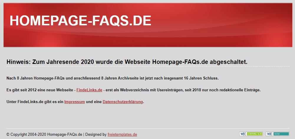 Homepage-FAQs
