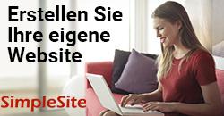 Webseite mit SimpleSite erstellen